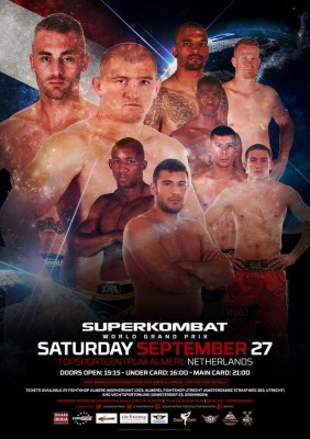 Superkombat Almere poster