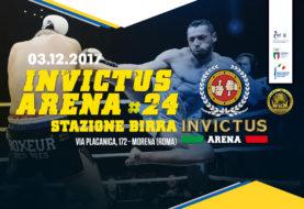 Una card d'eccezione per l'evento Invictus Arena più importante dell'anno