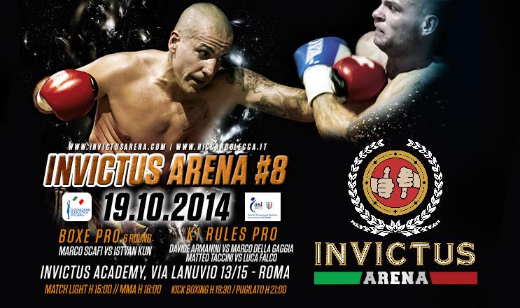Invictus Arena 8 / Gallery