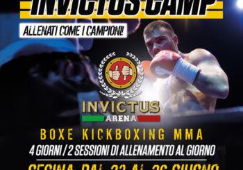 INVICTUS CAMP / CECINA 23-26 GIUGNO 2016