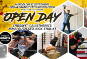 12 Settembre, OPEN DAY: prova gratis tutti i nostri corsi