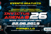 Il 22 Giugno a Formello un grande evento Invictus Arena con ingresso gratuito