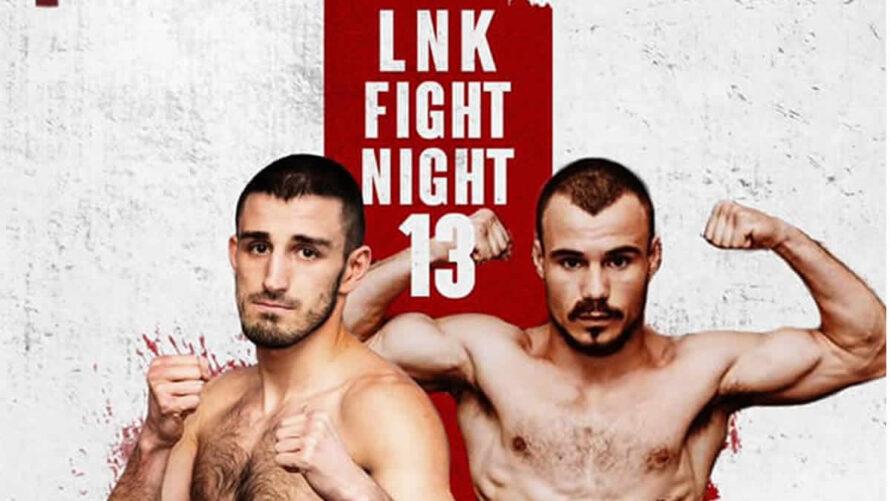 LNK Fight Night 13: 2 i pugili inviati da Invictus Arena a Riga il prossimo 12 Ottobre